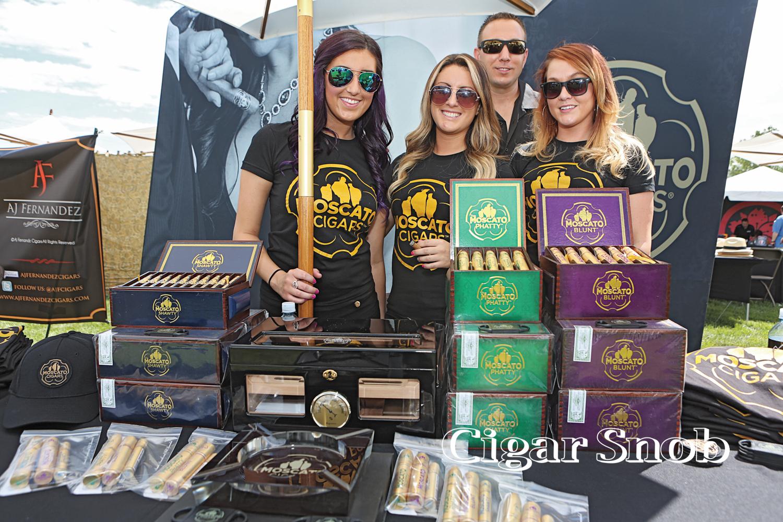 The Moscato Cigar team