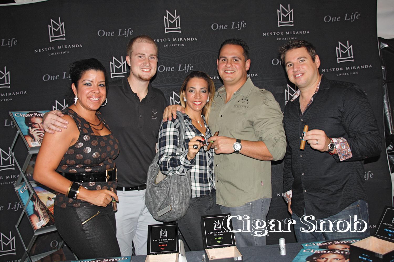 Liza Santana-Piñeres, Cody McKeon, Tatiana and Jason Wood, Gabriel Piñeres