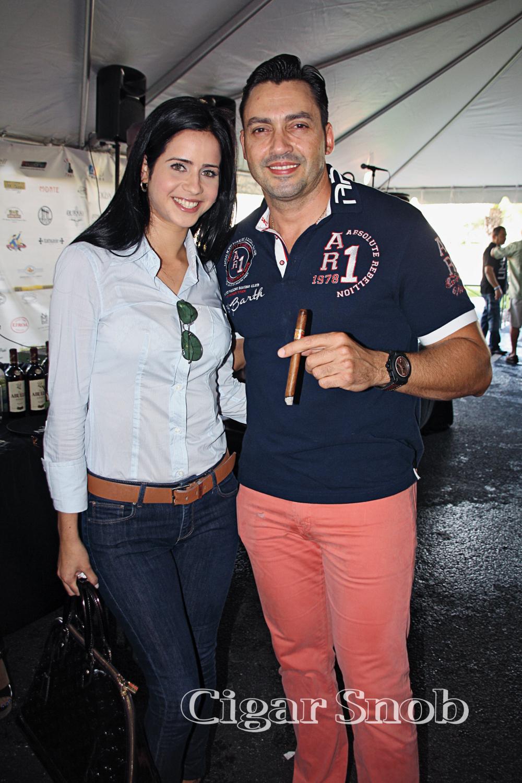 Ayleen Prieto and Manny Iriarte