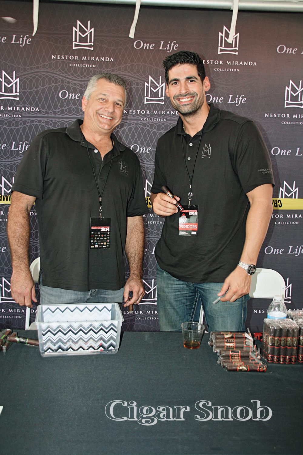Miami Cigar's Héctor Paz and Danny Delgado