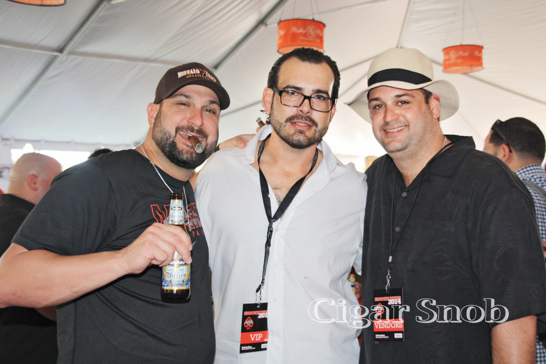 Michael Gido, Maro Suárez and Angel Gido