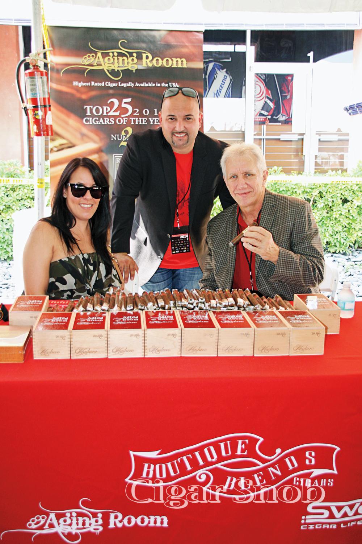 Liz Russo, Charles López and Hank Bischoff