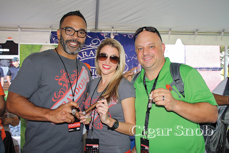 Todd Riddick, Nicole Arango and Robert Hancuff