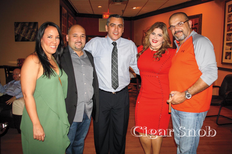 Liz Russo, Charles López, Alfredo Vargas, Yadi González-Vargas and Erik Espinosa