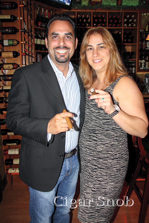 Jorge Corrales and Vivian Valdez