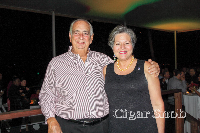 Carlos Toraño and Evelyn Trinidad