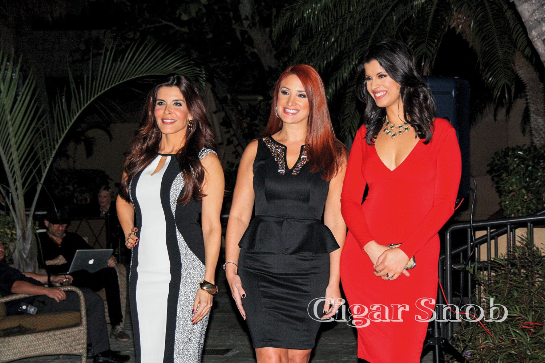 Adriana Cataño, Mariana Rodríguez and Roxanne Vargas