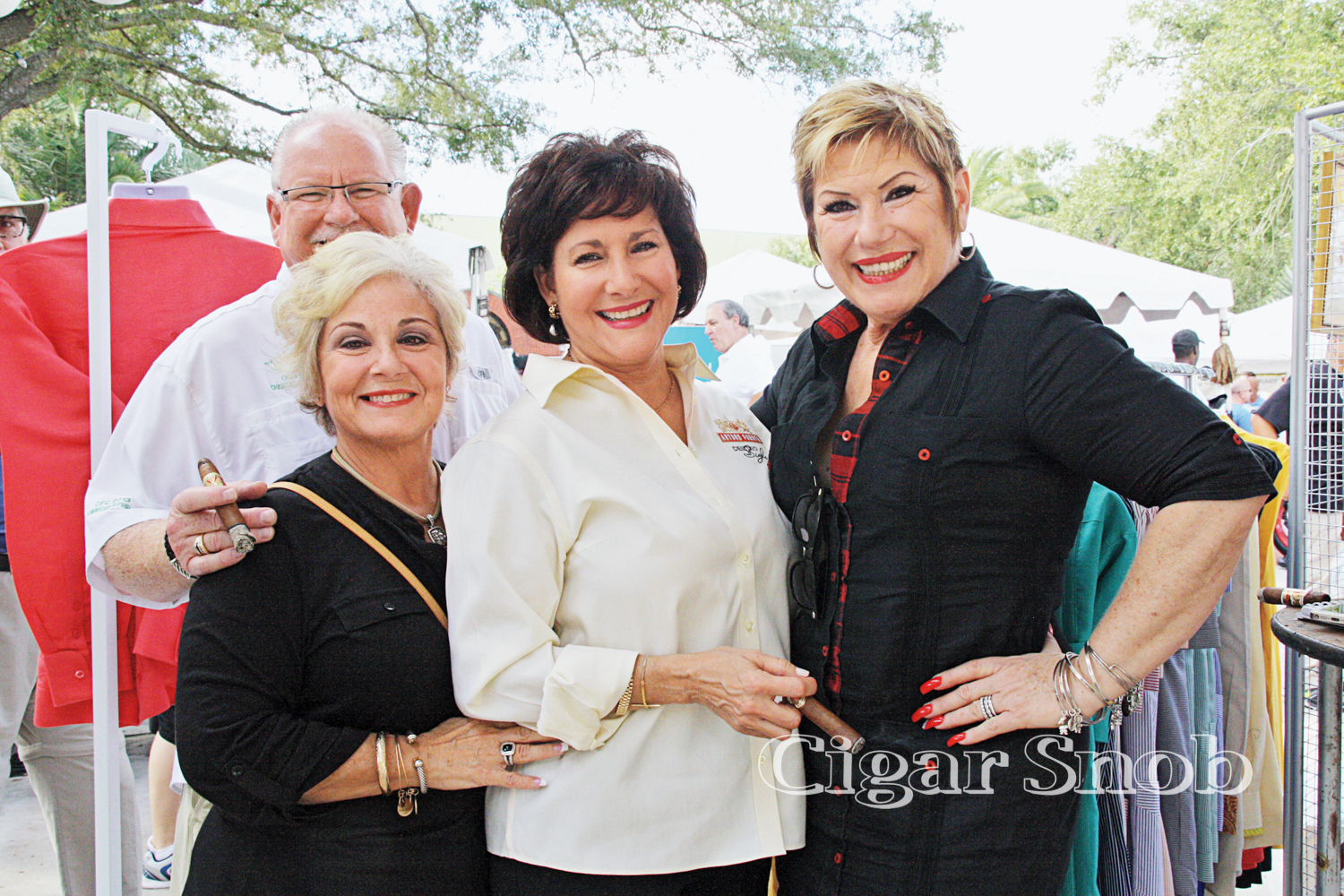Danny and Toni Williams, Cynthia Fuente and Berta Bravo