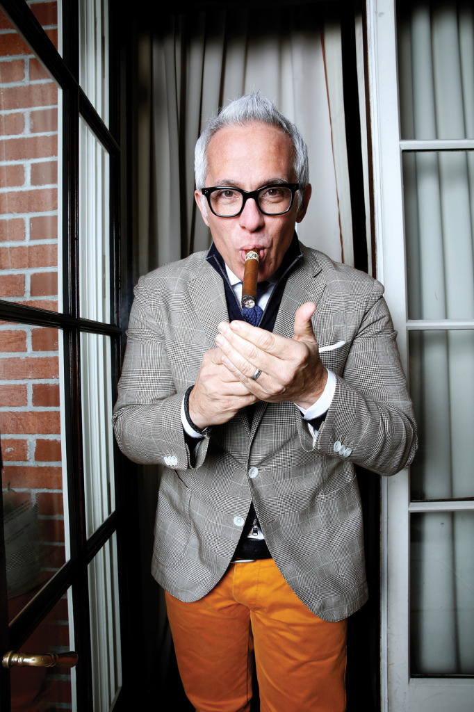 """For me, it's still about the ritual."" — Geoffrey Zakarian on cigars"