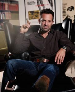 Scott Waugh —stuntman, director, cigar snob