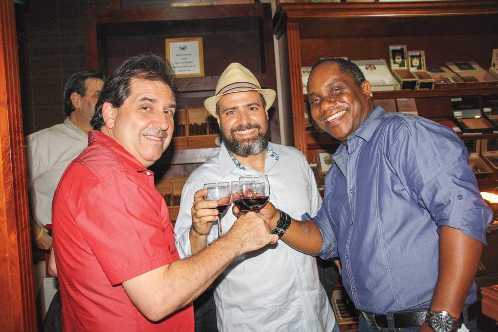 Robert Pelea, Azarías Mustafa and Tomsasito Cruz