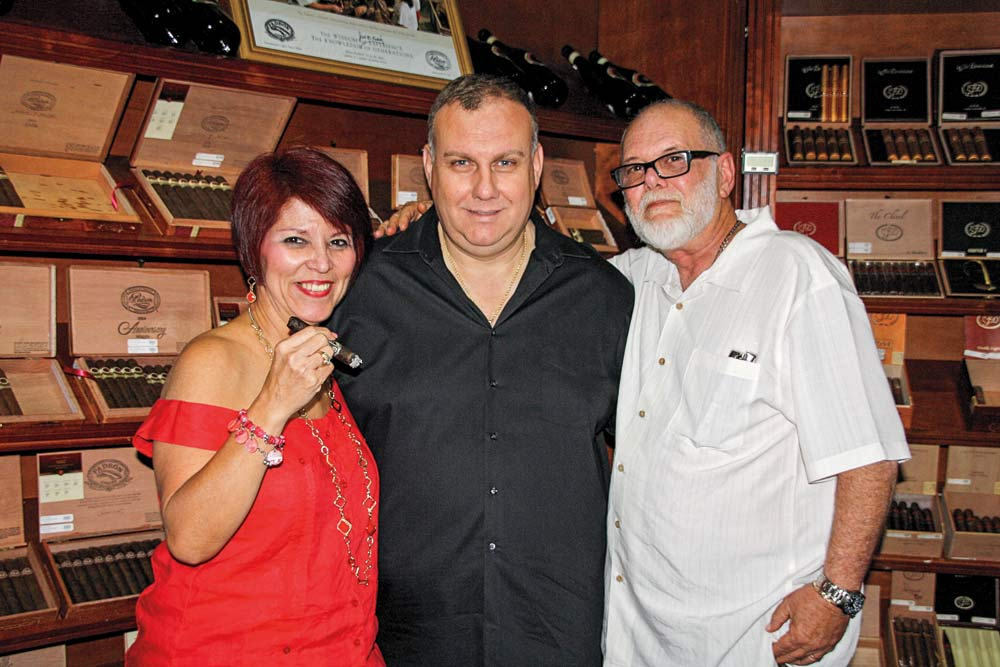 Luz Freire, Peter Panos and Mike Freire