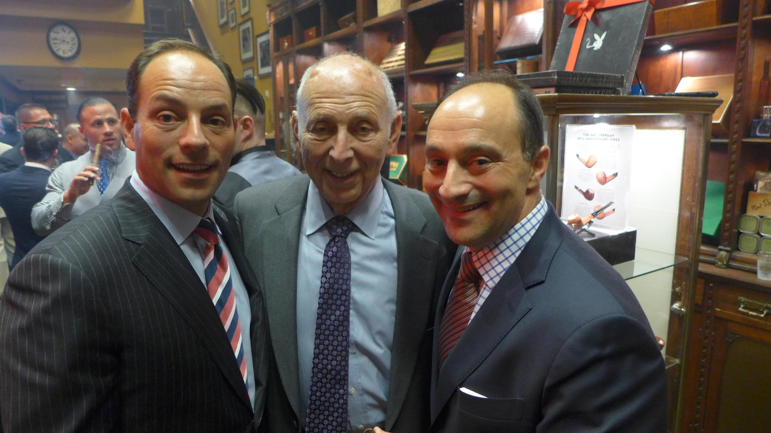Left to Right Larry Sherman, Joel Sherman, Bill Sherman.JPG