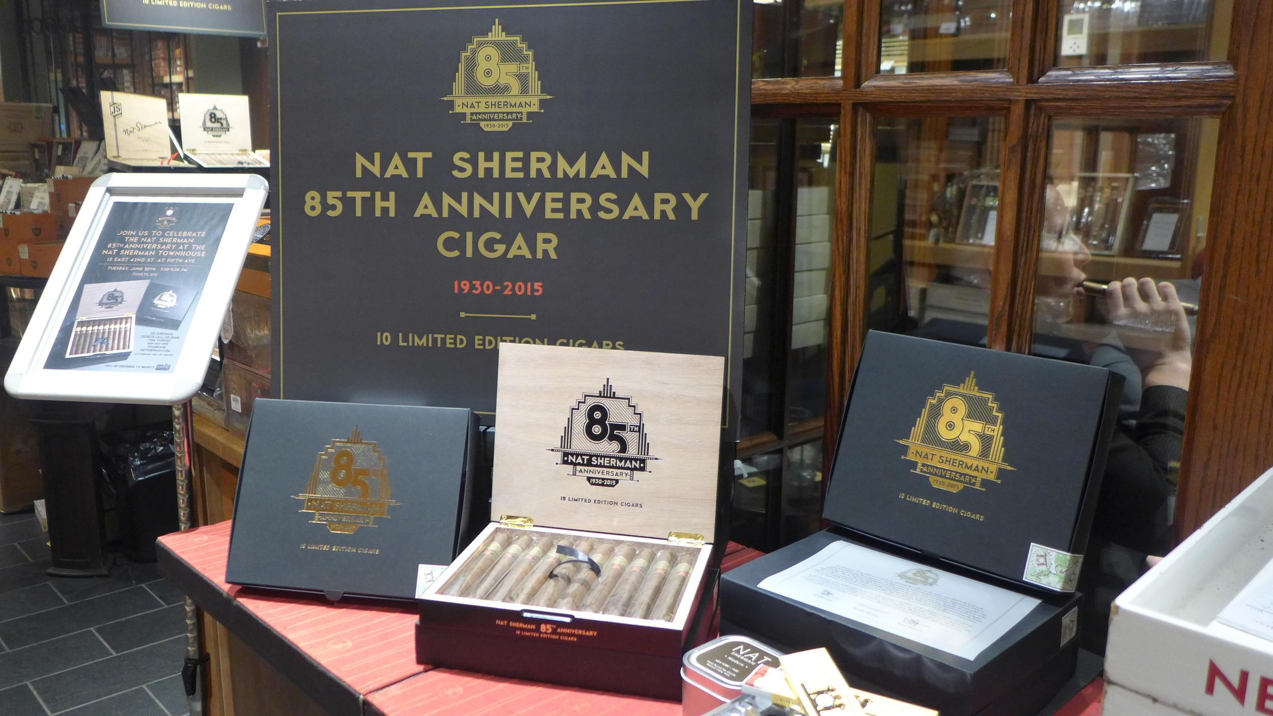 Nat Sherman 85th Anniversary cigar.JPG