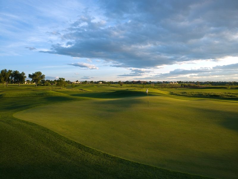 The 14th hole at CommonGround Golf Course