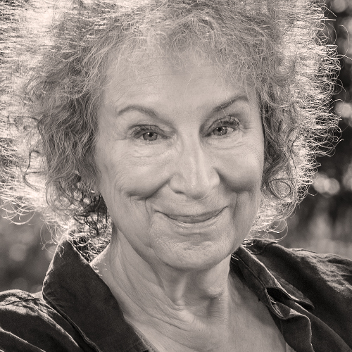 Margaret Atwood,  CC, Oont  Honorary Patron  Canada's preeminent writer. Her novels are dearly loved by BCFI's book clubs members. As well, she has been an outspoken advocate of the prison farms, and has written about prison conditions for women in her 1996 novel, Alias Grace, and about performing Shakespeare in prison in her 2016 novel, Hag-Seed, currently being adapated for performance by Prison Performing Arts in St. Louis, Missouri.