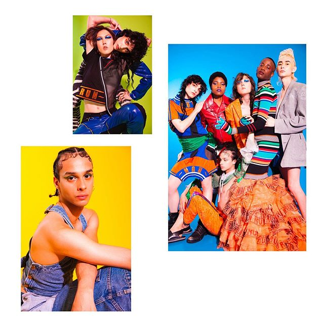 happy tuesday ✨ here are some seriously looking people for @nylonmag #shot by @munachiosegbu & #styled by 🙋🏼‍♀️ in @nosessola @thephluidproject @laurenceandchico @tokyojamess + @privatepolicyny w #hair @styledbysergio & #makeup @ttulvemakeup feat. the handsome @newpandemics crowd @anaurypena @miles.beguiles @angel_maxima  @dylancramps @corywalkers & @julian.ruiz 💖 xo @jennaroseigneri @agentrypr 💪💪 @matt.velasco