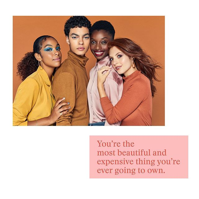 in love w these beautiful, expensive people i styled for @bustle x @ultabeauty #shot by @tawnibannister w #makeup @ashleyvictoriamua #hair @akihisa0704 & #nails @aliciatnails feat. @kalysseanthony @glisteningangel @mbessi & @maryvbenoit w #artdirection by @___mollykate___ #production @dasfancy & 🥰 @irmssss + @lexnovak | #words @poolcreatives