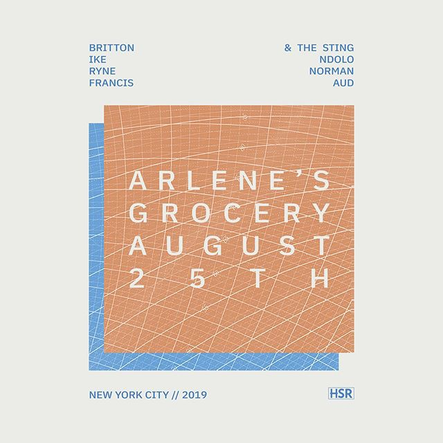 I'm playing a show in Manhattan 8/25 at @arlenesgrocery with some fine folks! Come through NYC!! #newyork #livemusic #newyorkmusic #newyorklivemusic