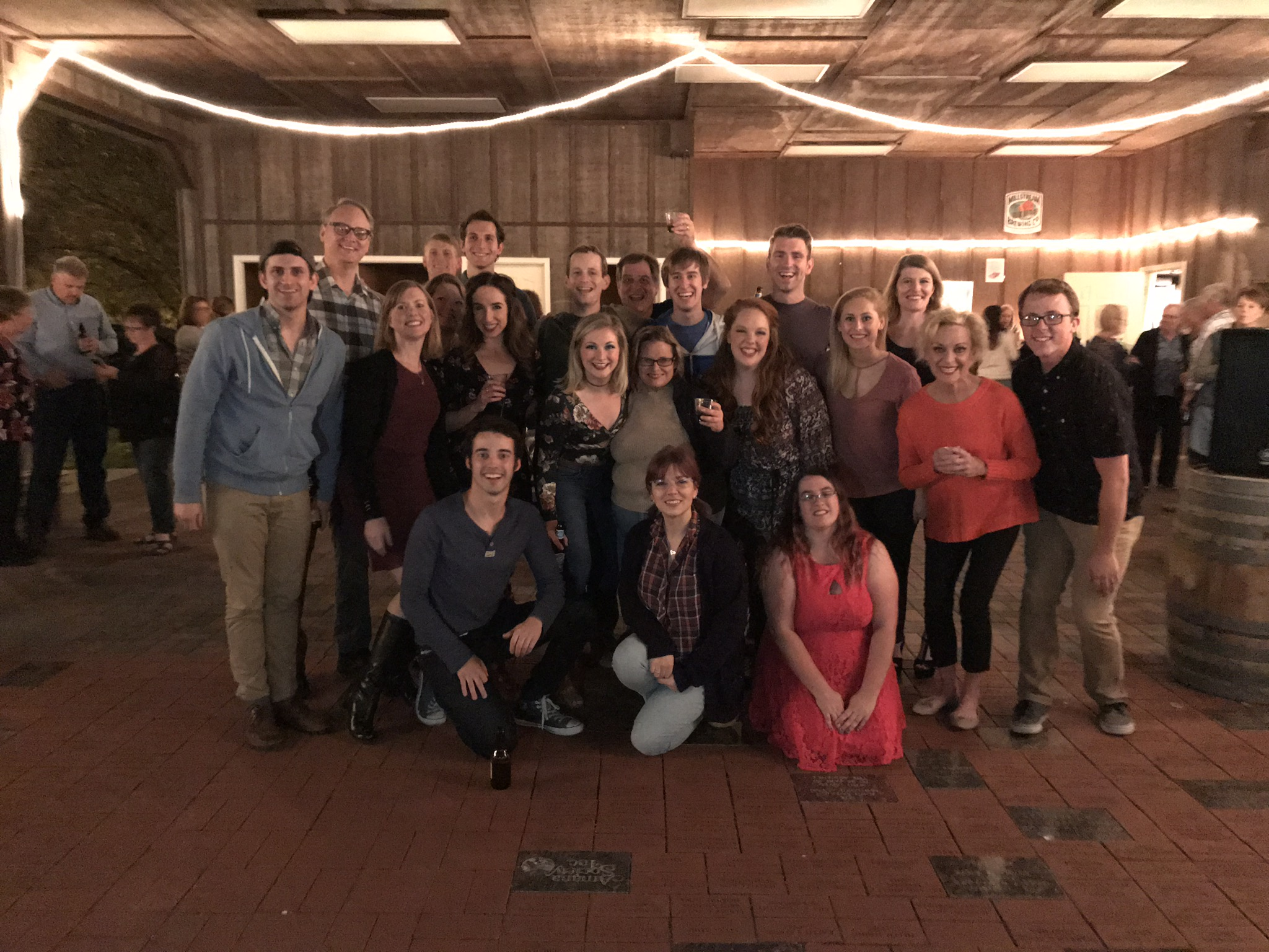 Old Creamery Theatre Footloose cast and crew