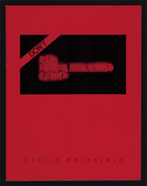 Don't Run From a Man Named Climax Artist published chapbook, Seattle, WA 1985