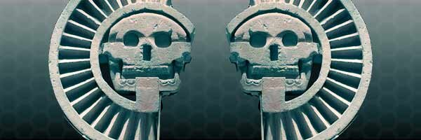 The god(s) of death Mictantecuhtli and Mictecacuhuatl have a duality that's found throughout Aztec myhology and thought. Original photo of sourced from Wikimedia.