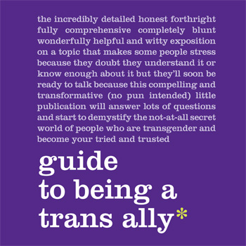 Guide to being a trans ally - PFLAG Austin
