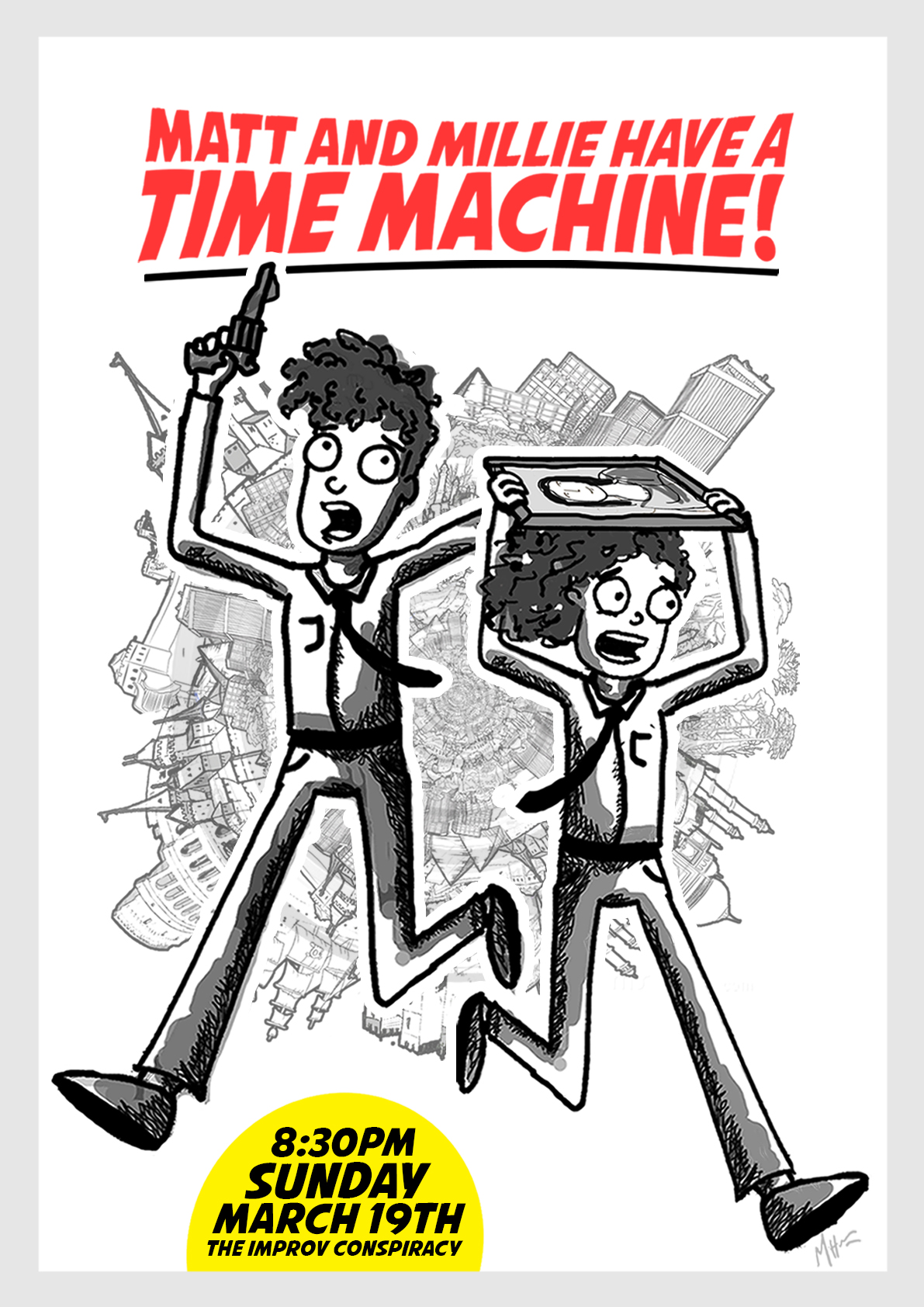 'Matt and Millie Have a Time Machine!'    | Show poster