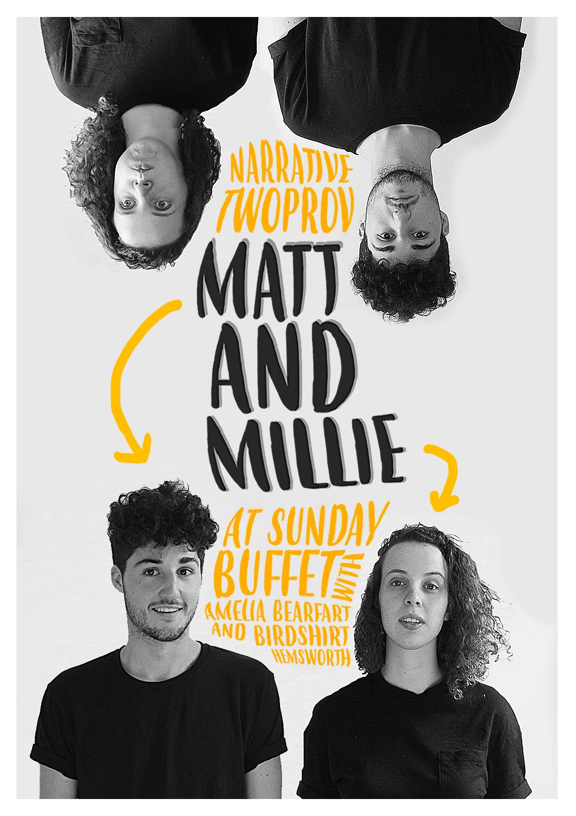 'Matt and Millie'    | Promotional poster