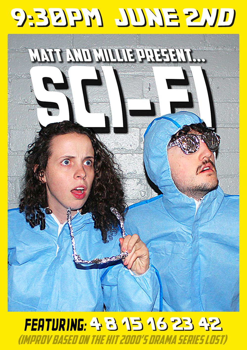 'Matt and Millie Present...'    | Promotional poster