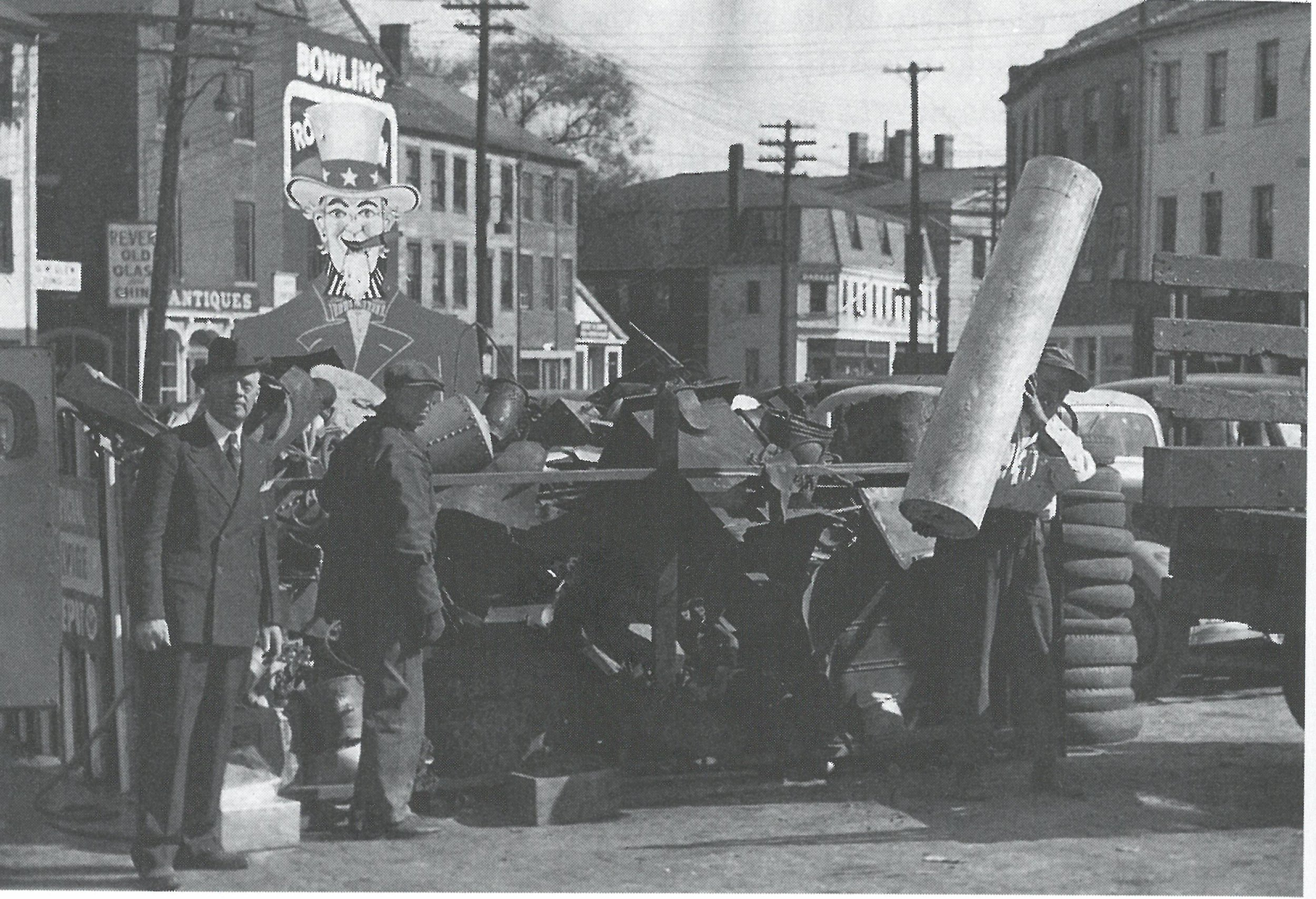 Newburyport in WWII -