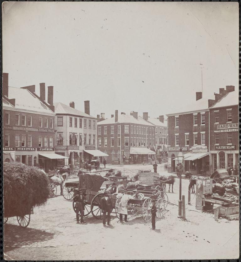 Market Square, 1882