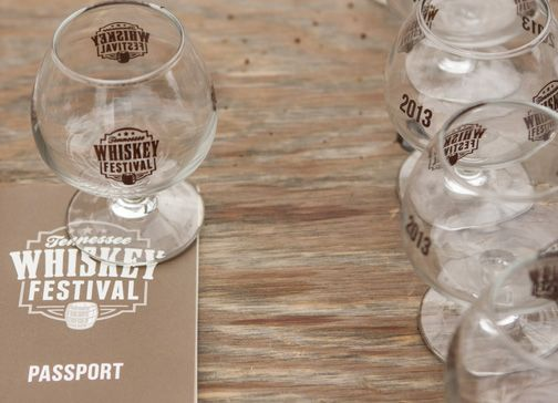 Whiskey Festival Tasting Glass