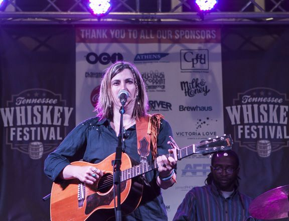 Stage singer at TN Whiskey Festival