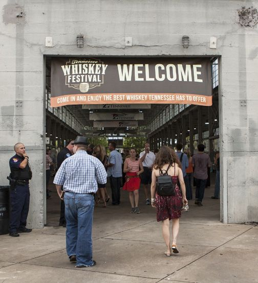 Whiskey Festival Welcome Entrance