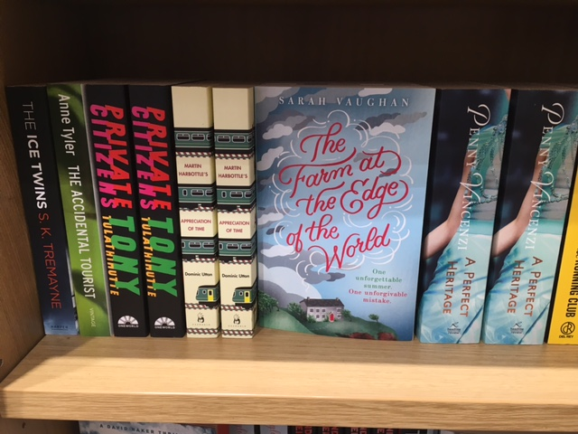 First sighting in the wild - at WH Smith's Travel, Heathrow Terminal 5.
