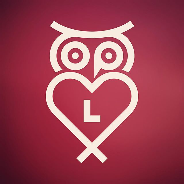"I #designed this #logo for the ""LIBRARY LOVER"" #campaign. The O P & L aren't there by accident. #heart  #library  #owl  #icon  #illustration #monoweight  #illustrator  #graphicdesign"