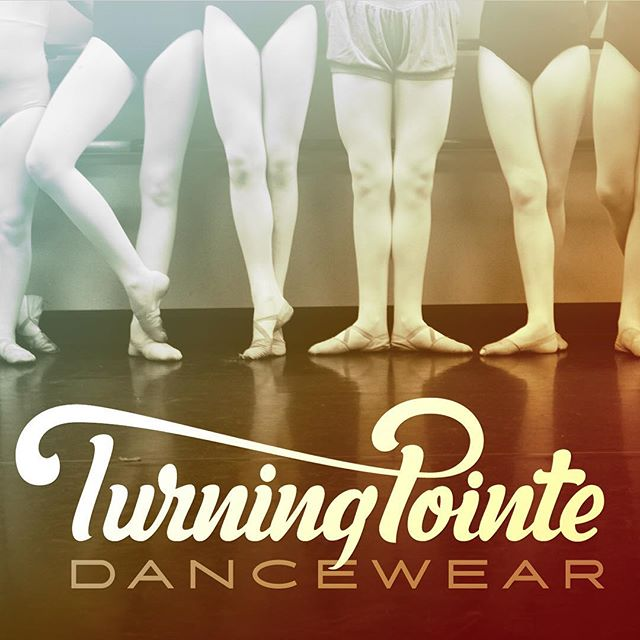 "#handlettering piece for a #startup #dance #apparel company. #lettered ""dance wear"" too...couldn't find a font that did what I wanted it to. #script #turning pointe"