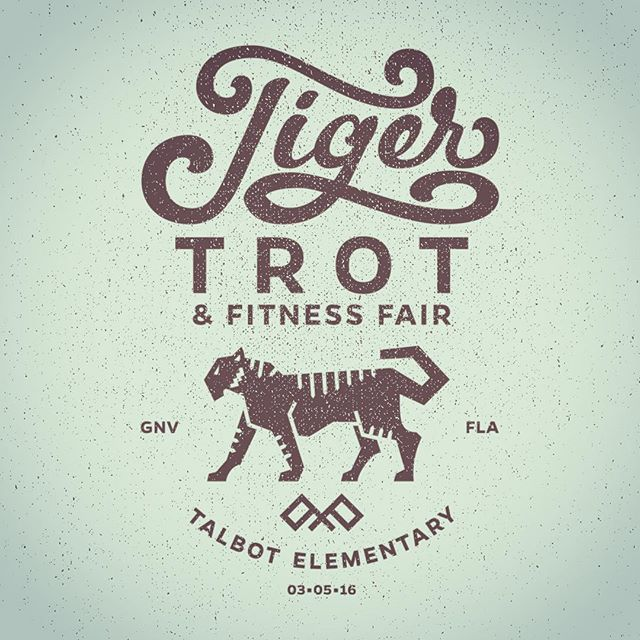 Wrapping this #design up. #badge #typelockup #tiger #illustrator #handlettering #script #tshirtdesign #vector #vectorillustration #onecolor #lettering #lettered #typespire #slowroastedco #logo