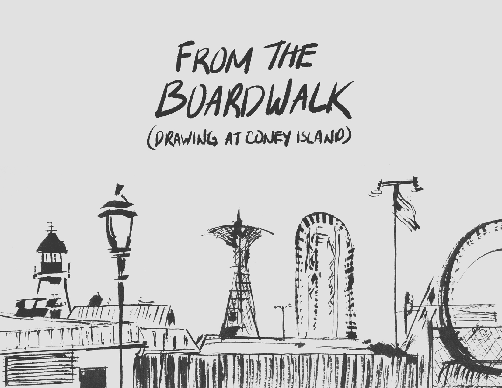 From the Boardwalk