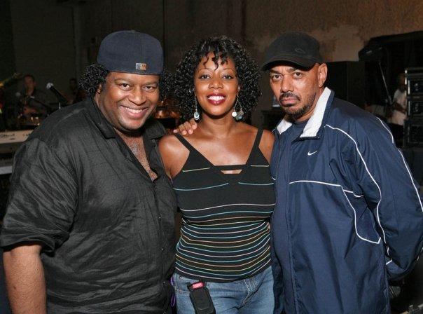 J with singer Cheryl Hicks and GRAMMY AWARD WINNER MR. JAMES INGRAM!