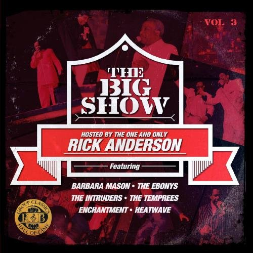THE BIG SHOW (70's SOUL MUSIC LIVE) VOL. 3 (Digitally Remastered) CD & DVD - Various Artists