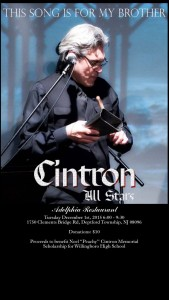 CINTRON ALL-STARS - THIS SONG IS FOR MY BROTHER (CAM/JAM RECORDS)