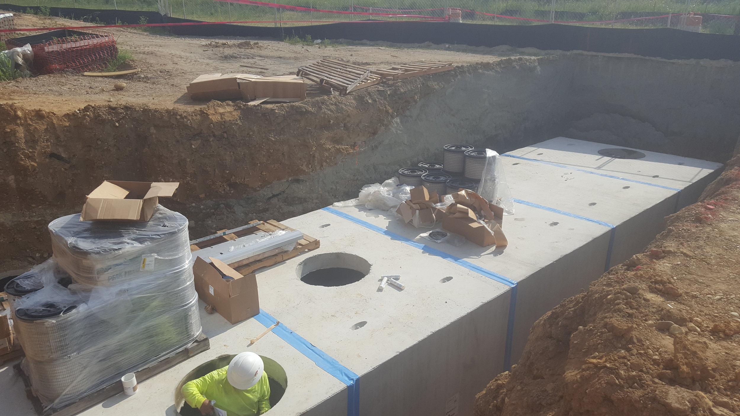 Rocketts landing - after install of vault.jpg
