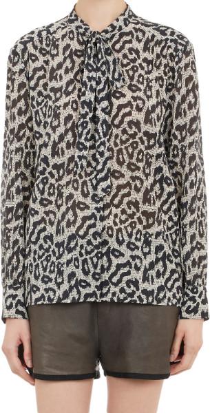sea leopard blouse