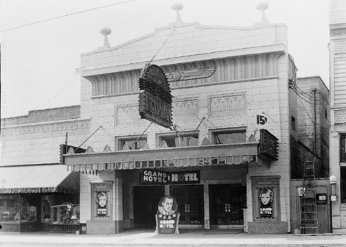Egyptian Theater, circa 1933