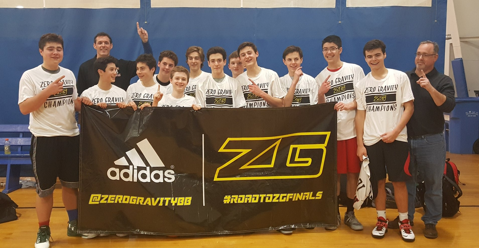 15U - O'Hara celebrating their 2017 ZG Gold Rush Championship in the 9th grade International division after going 6-0 on the weekend!