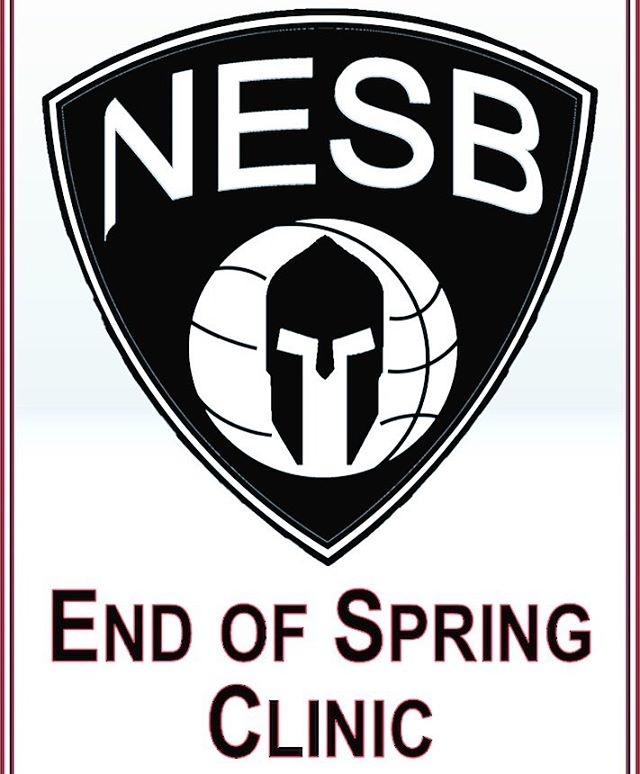 The NESB End of Spring Clinic begins tomorrow June 11th at Thurston Middle School in Westwood.  Register today at nespartans.com