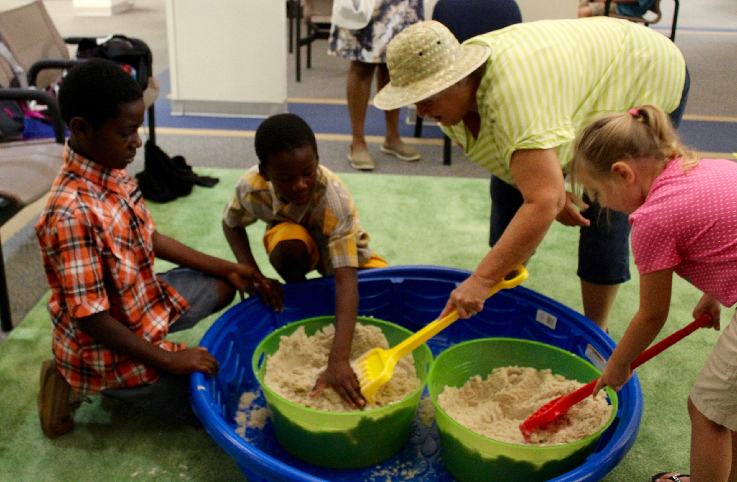 Charles Henderson Child Health Center celebrates with a dino-mite party!