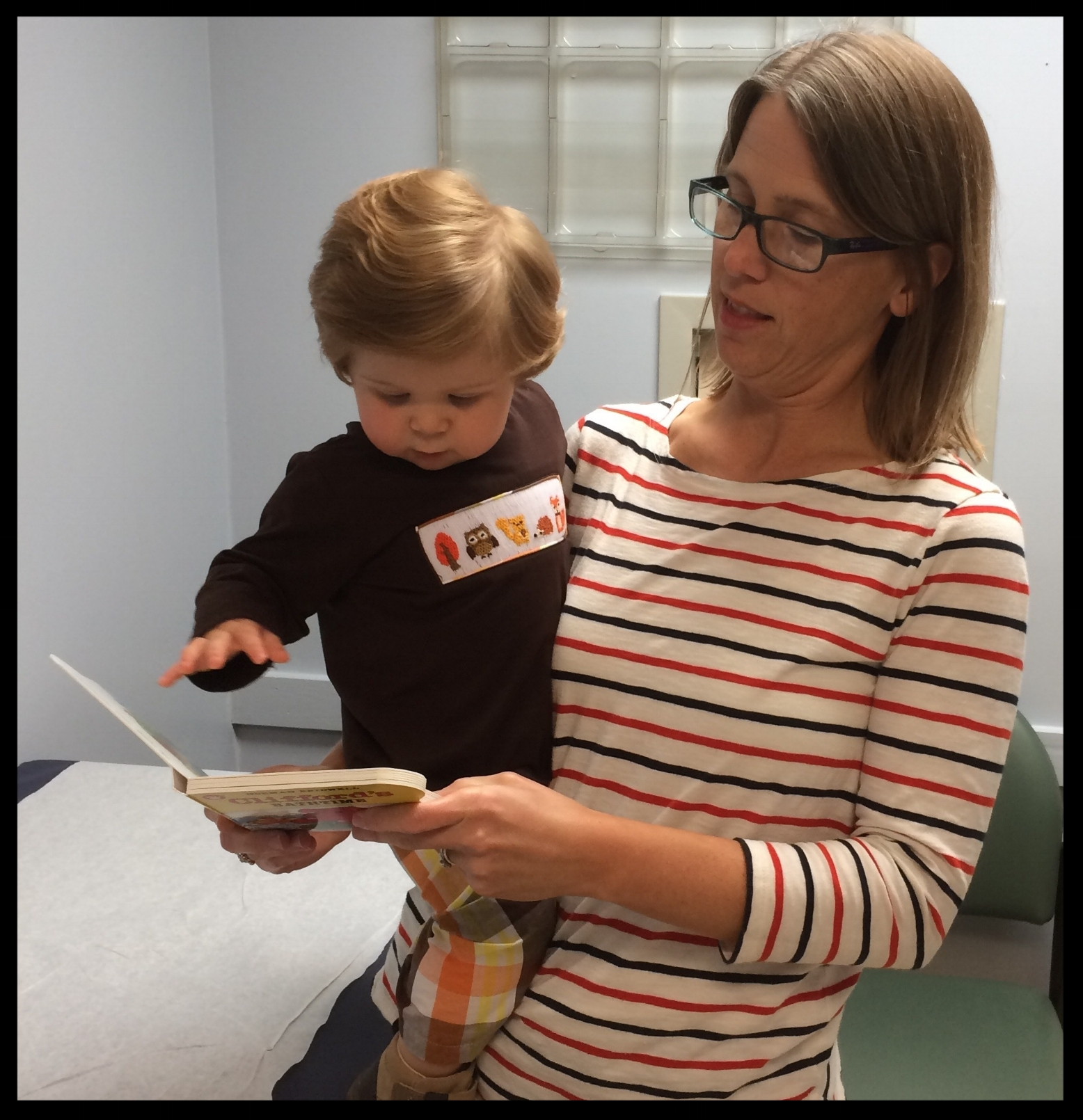 - As a pediatrician we talk to our families a lot about what to do and what not to do. Reach Out and Read is one of the few things I get to talk about while teaching and giving the parent a tool. Read more about Dr. Dawson's experience here...